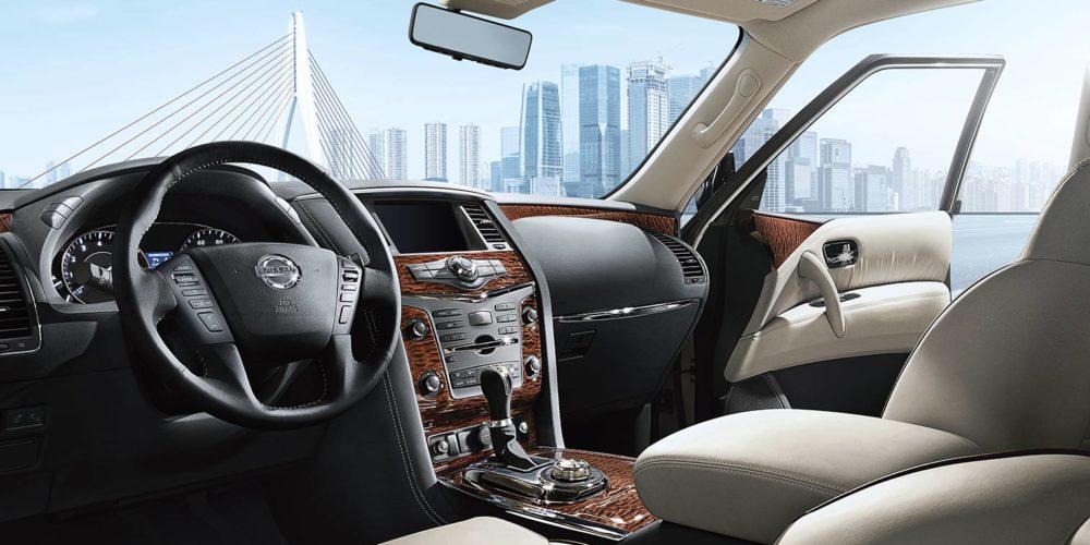 Nissan Patrol - interior 2