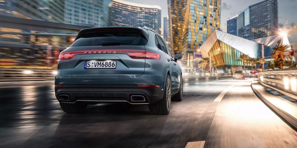 Porsche Cayenne Back